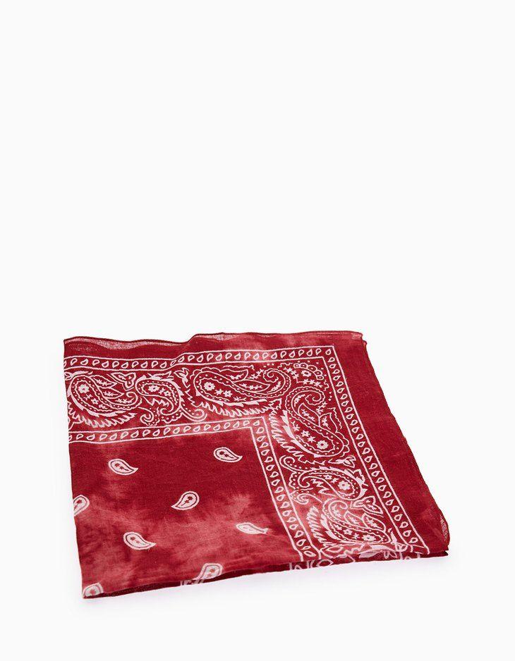 En Stradivarius encontrarás 1 Pañuelo bandana tie-dye por sólo 4.95 España . Entra ahora y descúbrelo junto con más Pañuelos.