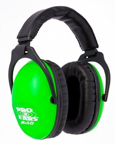 Pro Ears ReVO earmuffs are perfect for smaller heads and ears.