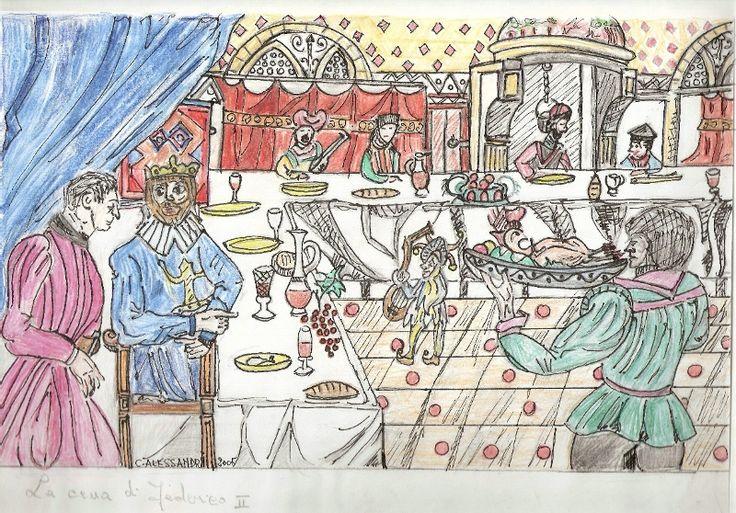 Federico II - La cena dell'imperatore