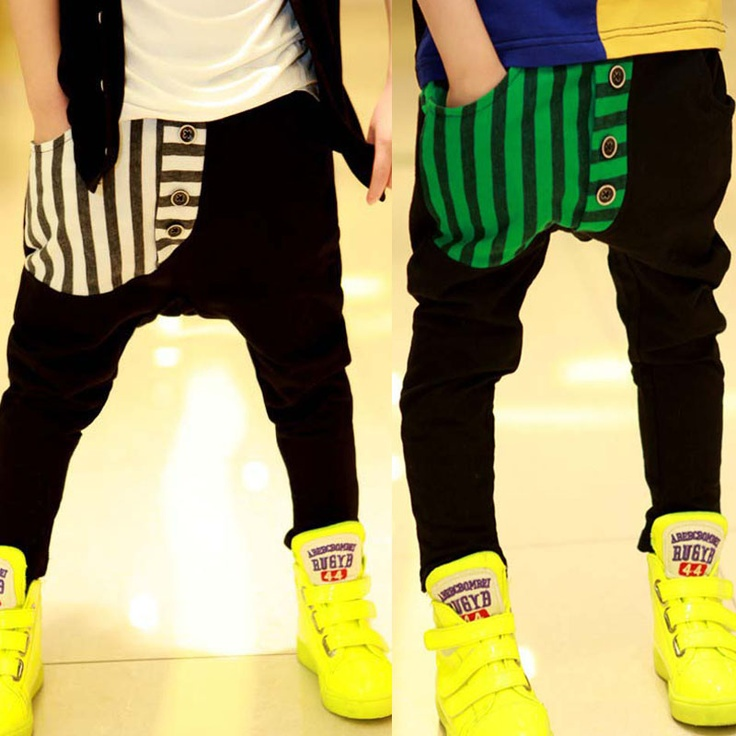 """Childrens clothing male child casual harem pants 2013 spring and autumn child baby trousers on AliExpress.com. 15% off $7.13 """"I would wear these"""""""