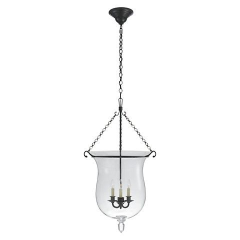 ralph lauren lighting fixtures. julianne large smoke bell pendant in bronze with clear glass ceiling fixtures lighting products ralph lauren home r
