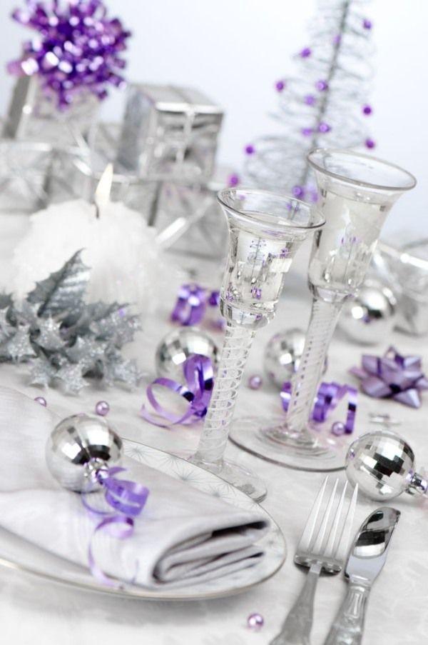 the 25+ best décoration table de noël or et argent ideas on pinterest