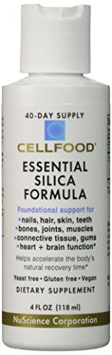 Cellfood Essential Silica Formula - 4 fl oz. - Pack of 2 ** Read more reviews of the product by visiting the link on the image.