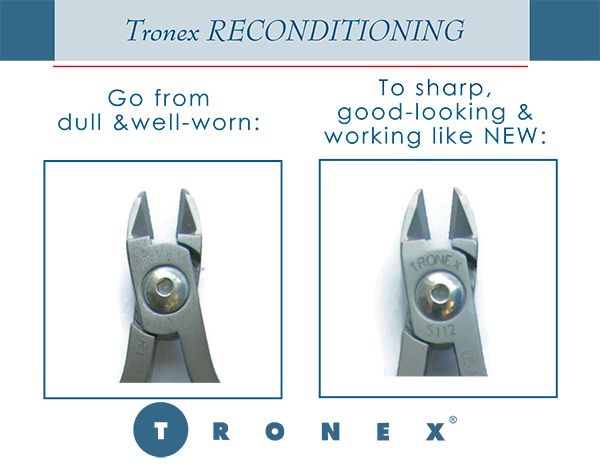 Tronex Reconitioning Cutters