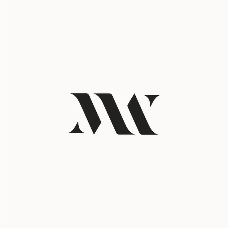 Logo / monogram / m w /MATERIAL WORLD