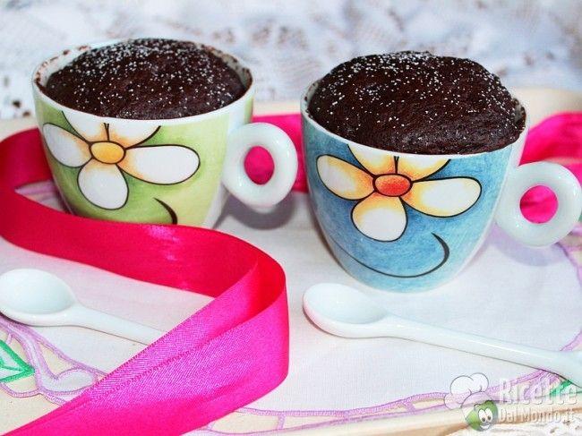 Mug Cake - Torta al Cioccolato in Tazza