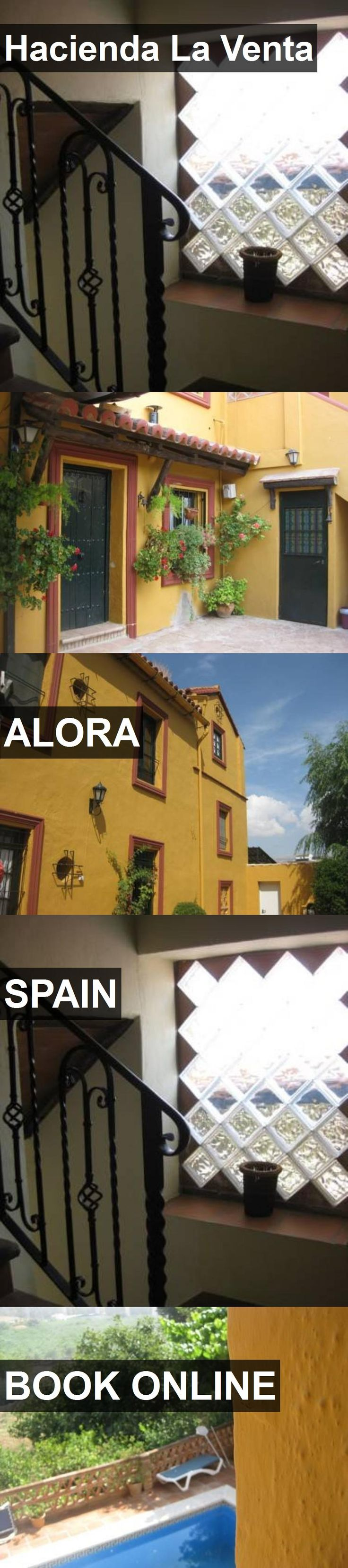 Hotel Hacienda La Venta in Alora, Spain. For more information, photos, reviews and best prices please follow the link. #Spain #Alora #travel #vacation #hotel