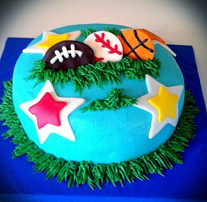 Best Cakes I Made Myself Images On Pinterest Amazing Cakes - All star birthday cake