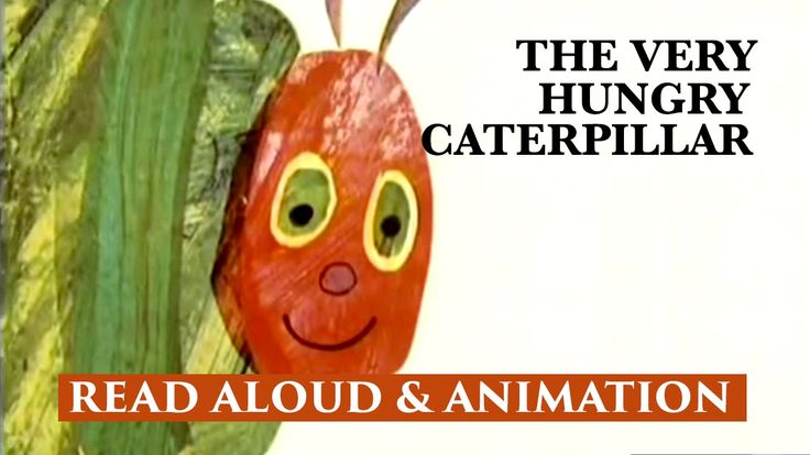 The Very Hungry Caterpillar Children's Story & Animation by Eric Carle |...