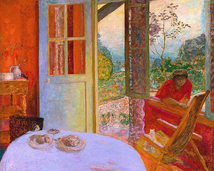 Pierre Bonnard - Salle à manger à la campagne - 1913