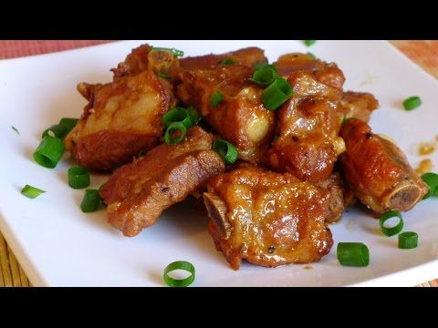 Vietnamese caramelized spare ribs. This is a staple for many meals from my childhood. Simple and delicious!