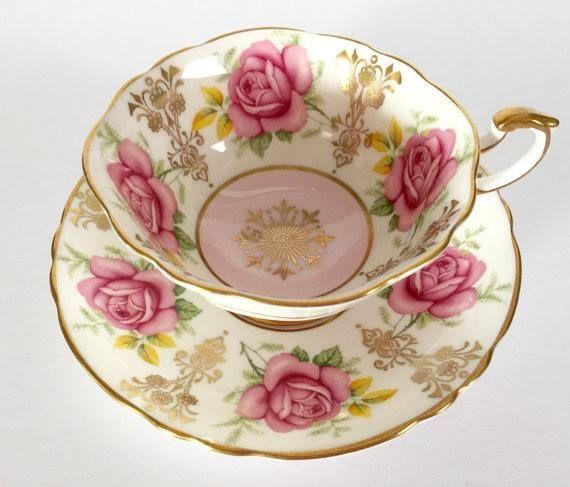 Pretty tea cup.