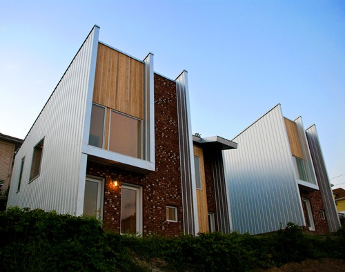 NCWVCAA Multi-Family Housing - contemporary - exterior - other metros - by BuildingLABinc.