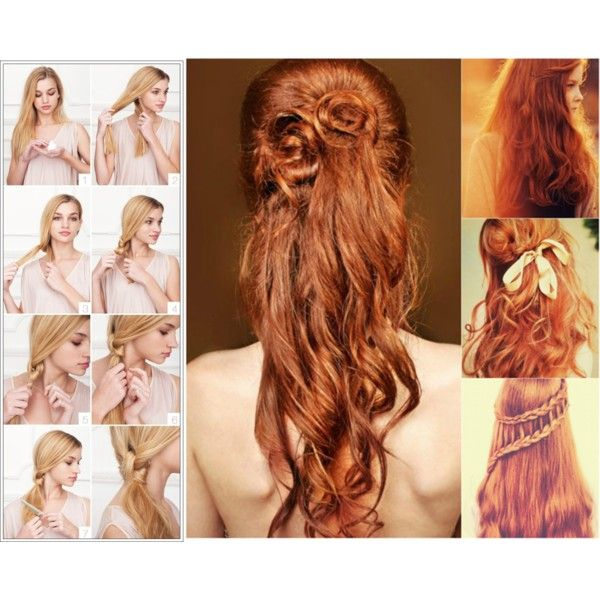 """""""Apply human hair wefts for charming look!"""" by ca-remyhairextensionshop on Polyvore"""