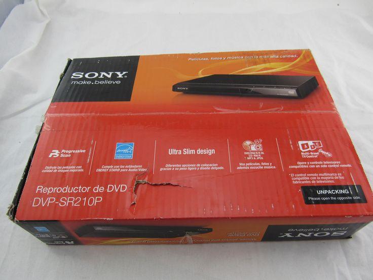 Sony Black DVD Player with Progressive Scan