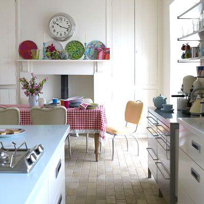 Best Modern Retro Kitchen Ideas On Pinterest Chip Eu Retro