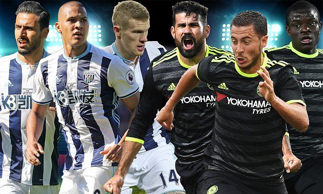 West Brom v Chelsea, EPL LIVE score: Follow all the action