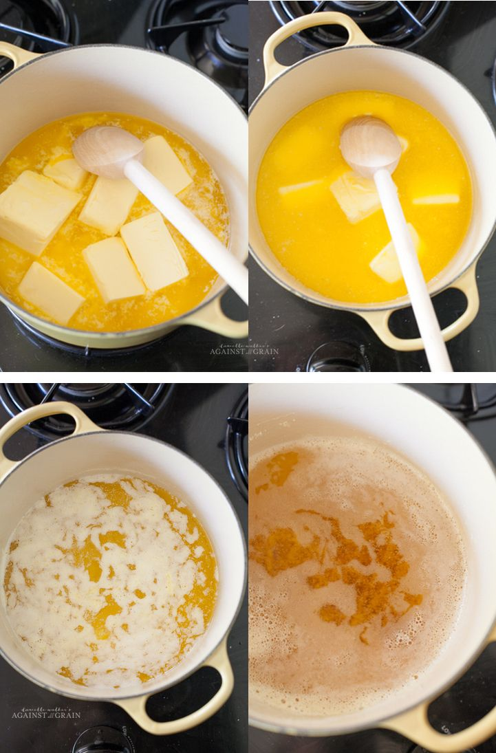 Making Ghee(clarified butter) from Danielle Walker's Against all Grain