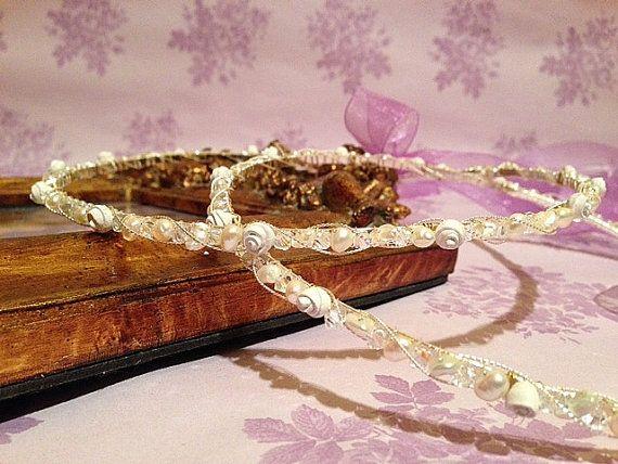 Handmade Stefana..Silver Plated /Sterling Silver Wedding by RNIA, €81.50