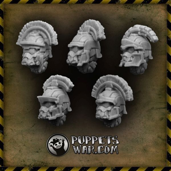 Let's not forget about Centurion Closed Helmets. Impressive enough? https://puppetswar.eu/product.php?id_product=554