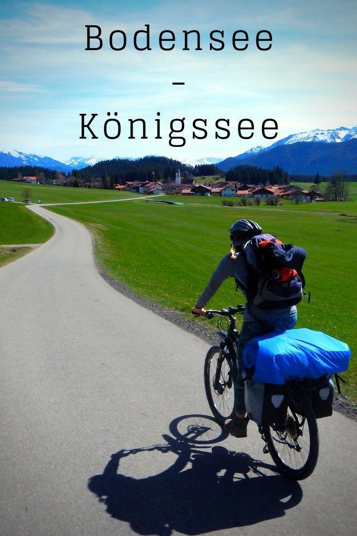 Bodensee Konigsee Radweg Bestmotorcyclesroadtrips Bodenseekonigseeradweg In 2020 Bike Poster Bikepacking Adventure