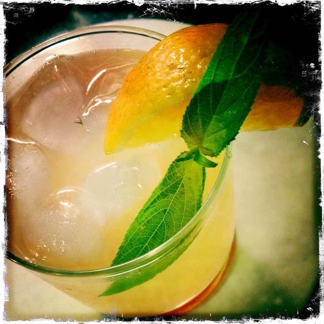 ... , Lemon, Pineapple & Wine) Cocktail (including Pineapple-Sage Syrup