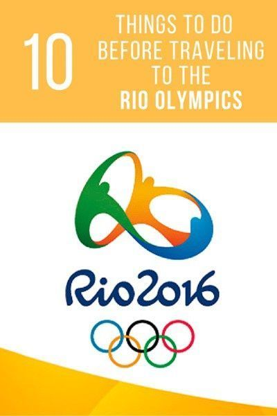 Tips for traveling to the Rio 2016 Olympics including apps, safety, and travel preparation.