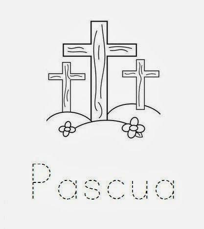 Maestra De Infantil Dibujos Para Colorear En Semana Santa Semana Santa Manualidades Cristianas Dibujos Para Colorear