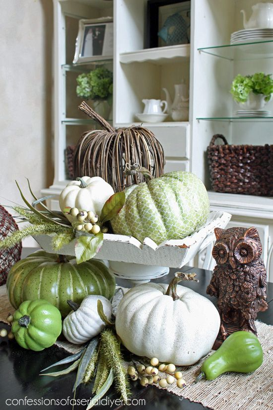 Thrifty fall decor vignettes thrift and neutral for Thrifty decor