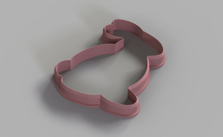 Rabbit cookie cutter (3D Model for 3d printing) Digital Download by 3DSlice on Etsy