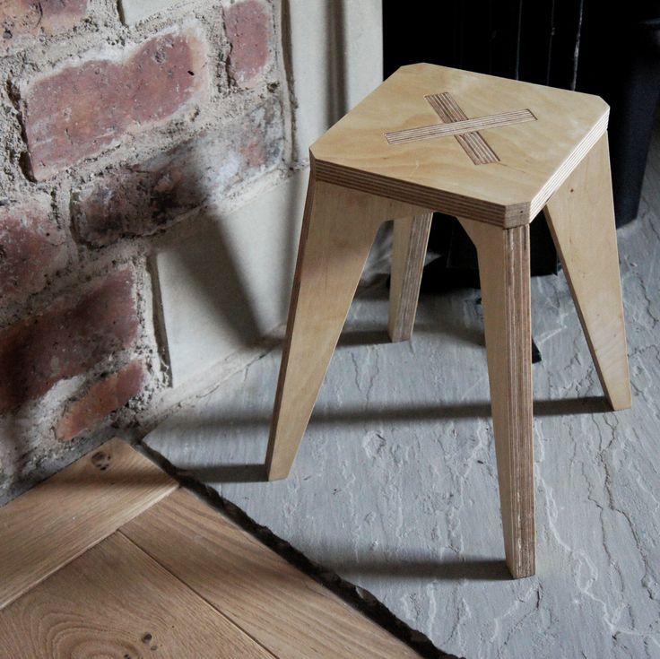 baby stool - birch plywood furniture - bespoke - handmade - nomadic design studio