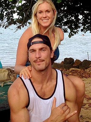 Bethany Hamilton and her husband Adam Dirks