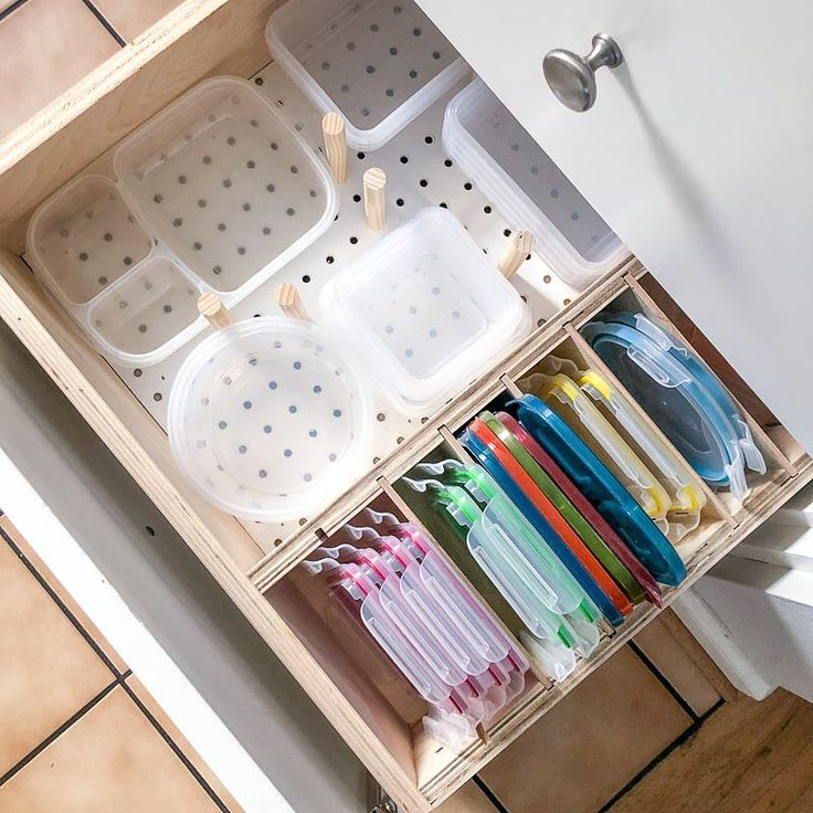 "Ana White on Instagram: ""Loving this DIY kitchen storage solution for drawers built by @the.… in ..."