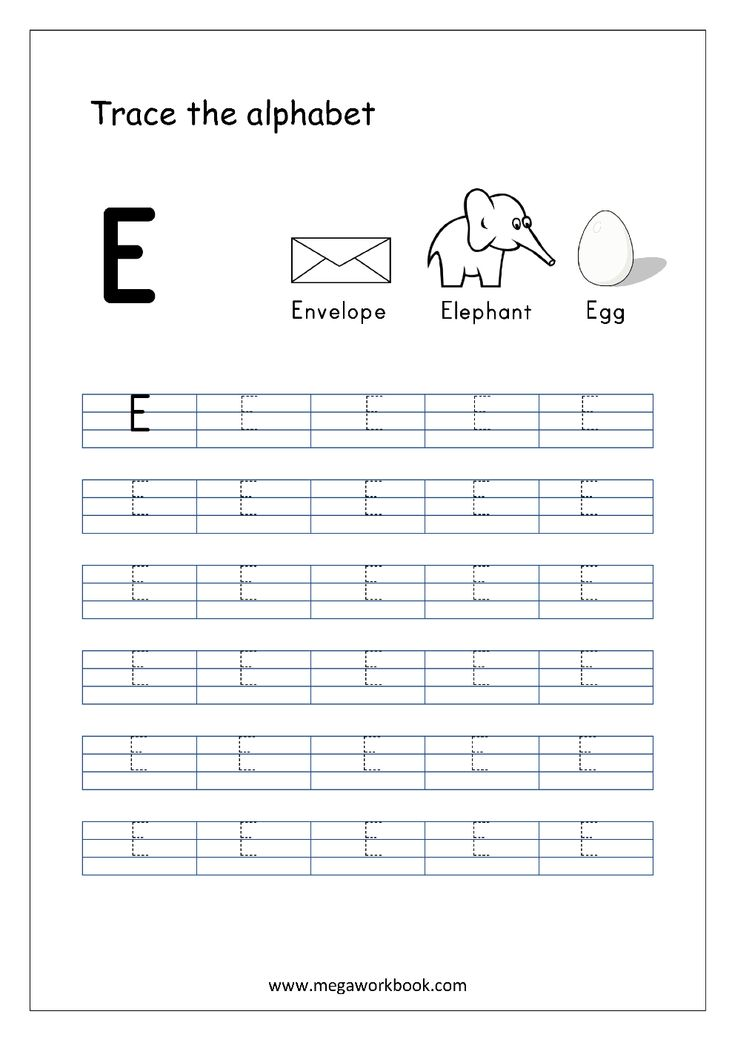 Tracing Letters - Letter Tracing worksheets - Capital ...
