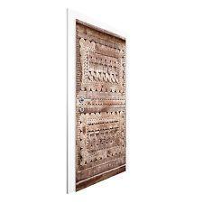 Vliestapete Tür - Alte verzierte marokkanische Holztür in Essaouria - Türtapete