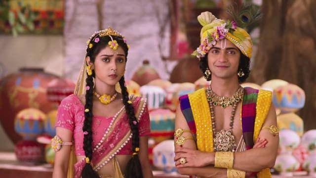 Watch RadhaKrishn episode 7 Radha Appreciates Lord Krishna