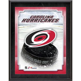 "Carolina Hurricanes Fanatics Authentic 10.5"" x 13"" Sublimated Plaque"