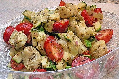 Rotbarsch mit mediterranem Gemüse