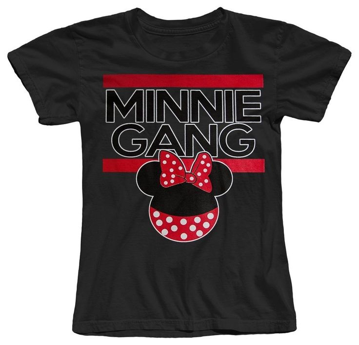 Minnie Gang dope Girl's Women's T-Shirt Mouse illest Mickey TGOD YMCMB New #NextLevel #GraphicTee
