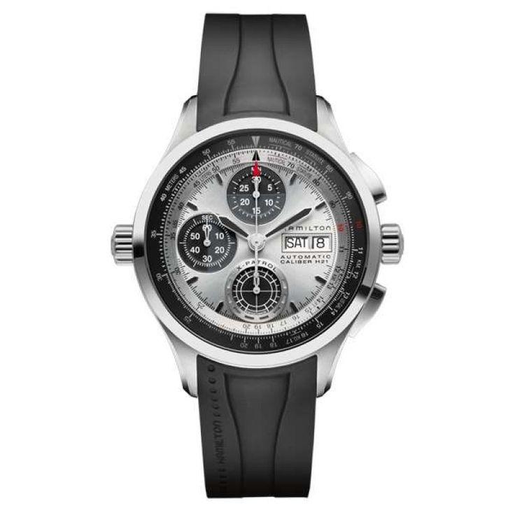 Reloj hamilton khaki aviation x-patrol auto chrono h76566351
