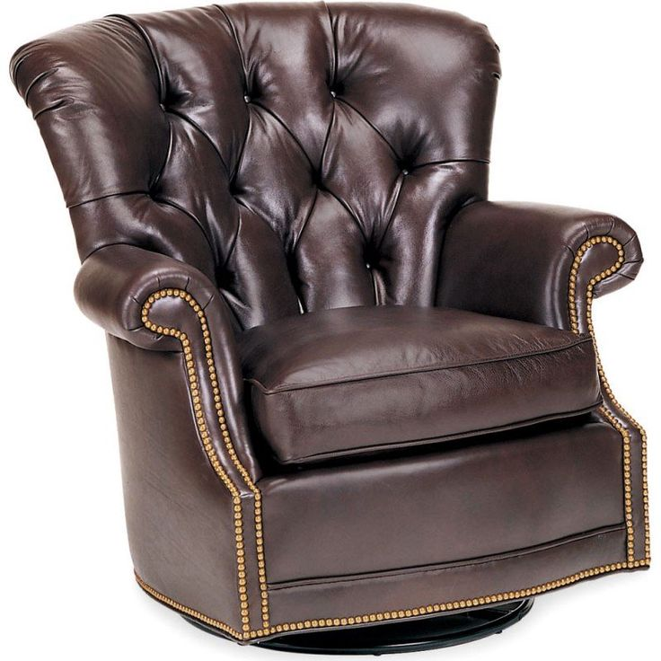 Century Leather Aldo Swivel Glider Chair available for Sale at CarolinaRustica.com