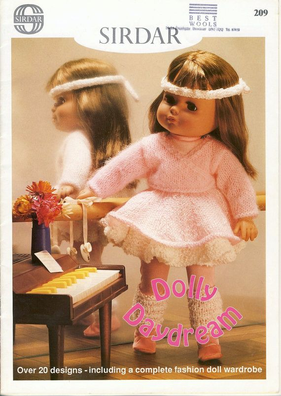 Sirdar Knitting Patterns For Dolls Clothes : 28 best images about Projects to Try on Pinterest Corks ...