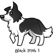 Border collie cartoon