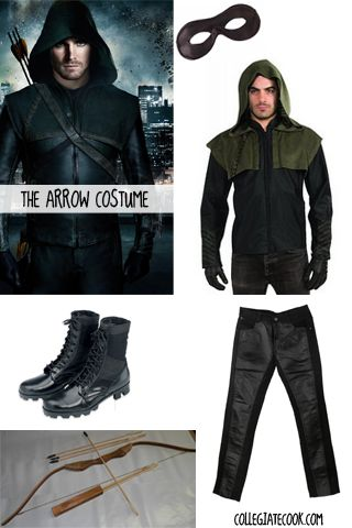 CW Arrow Costume Ideas -- How to dress like Oliver Queen this Halloween