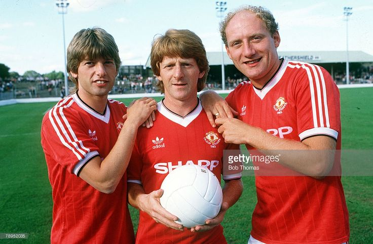 5th August 1984 Manchester United's new signings left right Jesper... News Photo | Getty Images