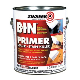 Use as primer so that I can paint our laminate/veneer kitchen cabinets a different color!