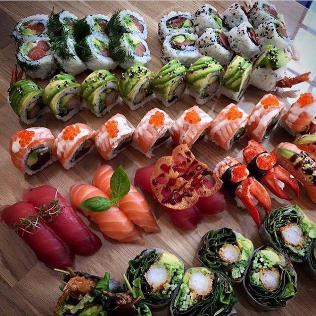 lovely sushi.
