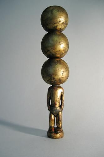 3 Bubble Heads: Underpants in Gold, 2003, Works From 1985 to Today ~ Brett Murray
