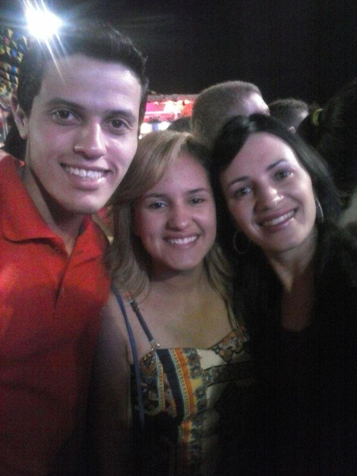 Maria Luisa e Aucelia no show de Jorge e Matheus #friends #saojoao #caruaru #givaldogalindo
