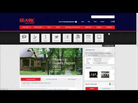 RE/MAX Technology Training: How to customize your BestAgent.ca Homepage #REMAXtools #RealEstate